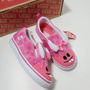 New Vans Littls Girl Little Monsters Sneakers